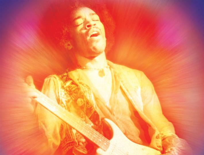 Jimmy Hendrix, born Nov. 27, 1942.