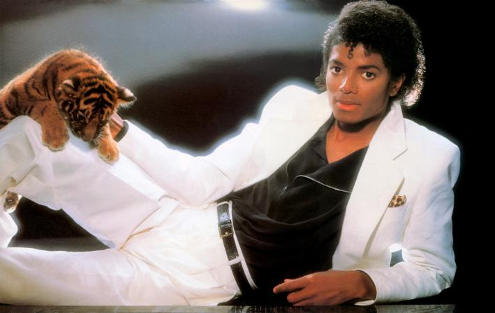 Michael Jackson's 'Thriller'; released November 30, 1982.
