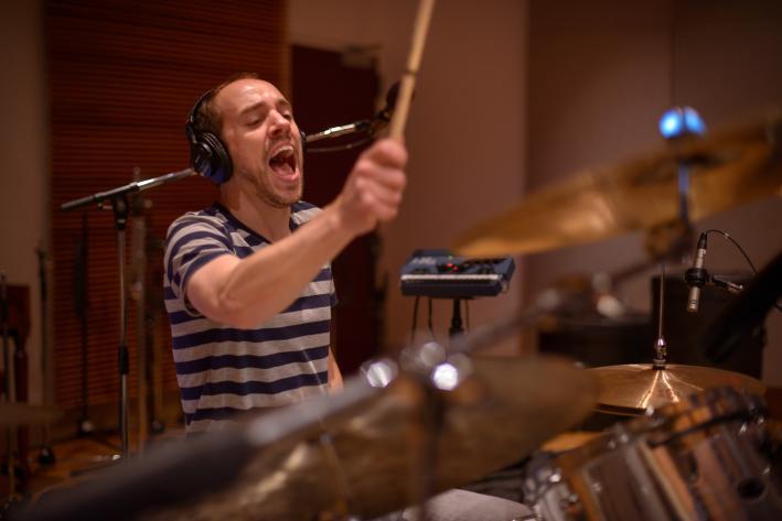 Helio Sequence drummer Benjamin Weikel