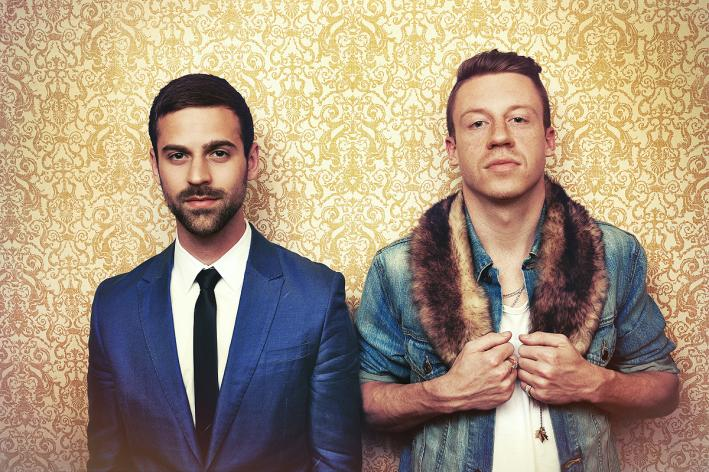 Producer Ryan Lewis, left, and rapper Macklemore.