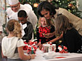 Michelle Obama hosts military families at White Ho