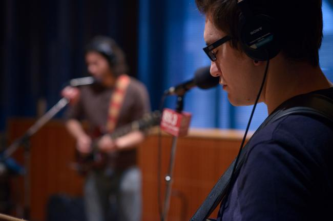 All Eyes performs in The Current studios