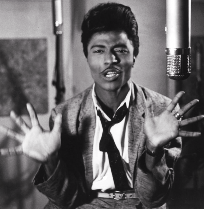Rock'n'roll pioneer Little Richard.