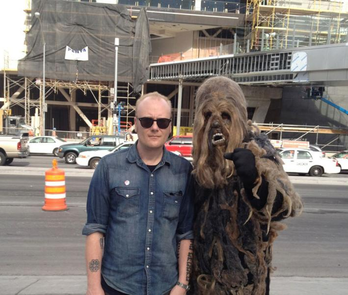 Singer-songwriter, author and friend of wookies Mike Doughty.