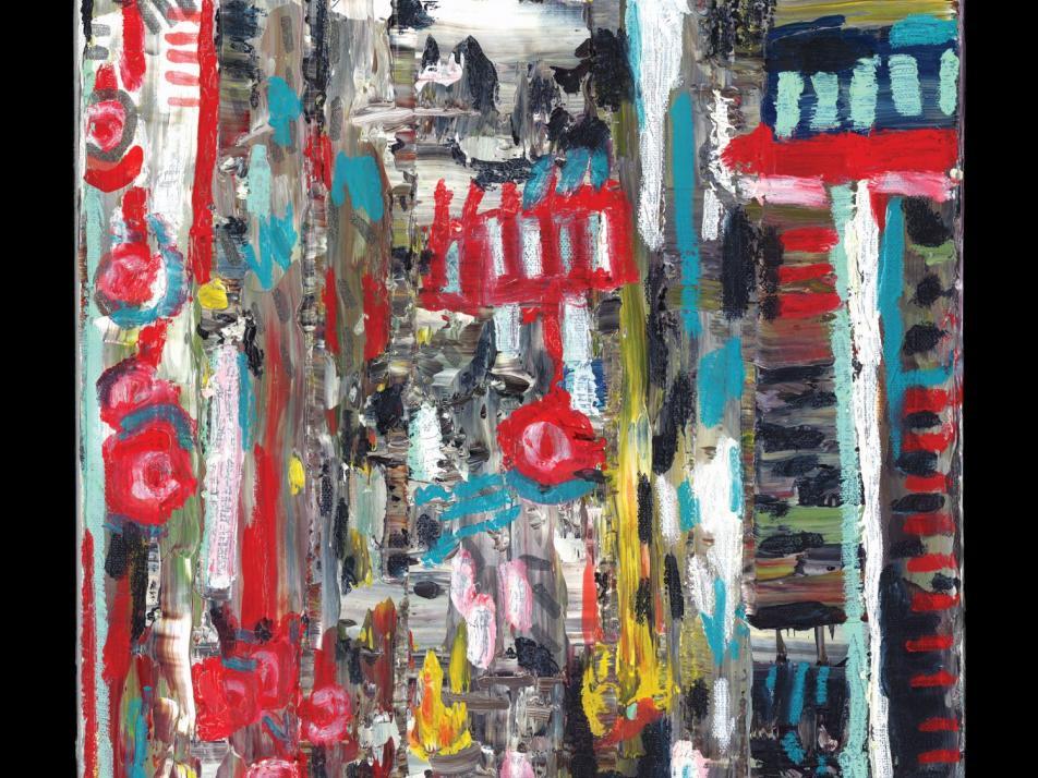 """Album art for Benjamin Gibbard's """"Former Lives"""""""