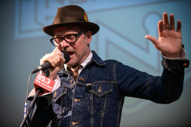 Gord Downie of the Tragically Hip. CREDIT: Nate Ryan