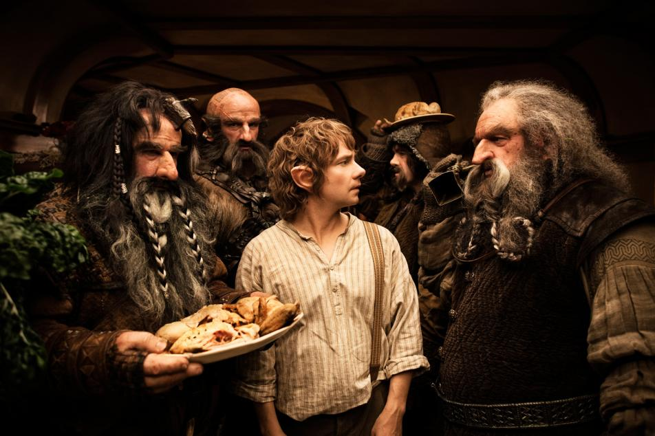 Screen Shot from the new movie, The Hobbit.