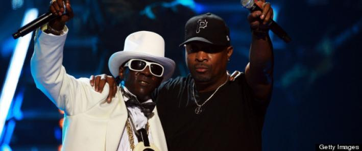 Public Enemy, one of the 2013 Rock and Roll Hall of Fame inductees.