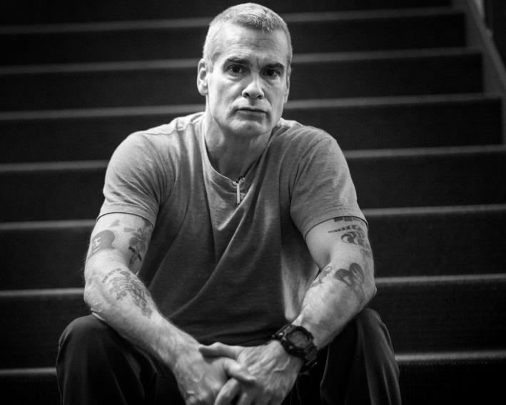 Henry Rollins spoke with Mary Lucia on Dec. 14, 2012, before his appearance at Wits.
