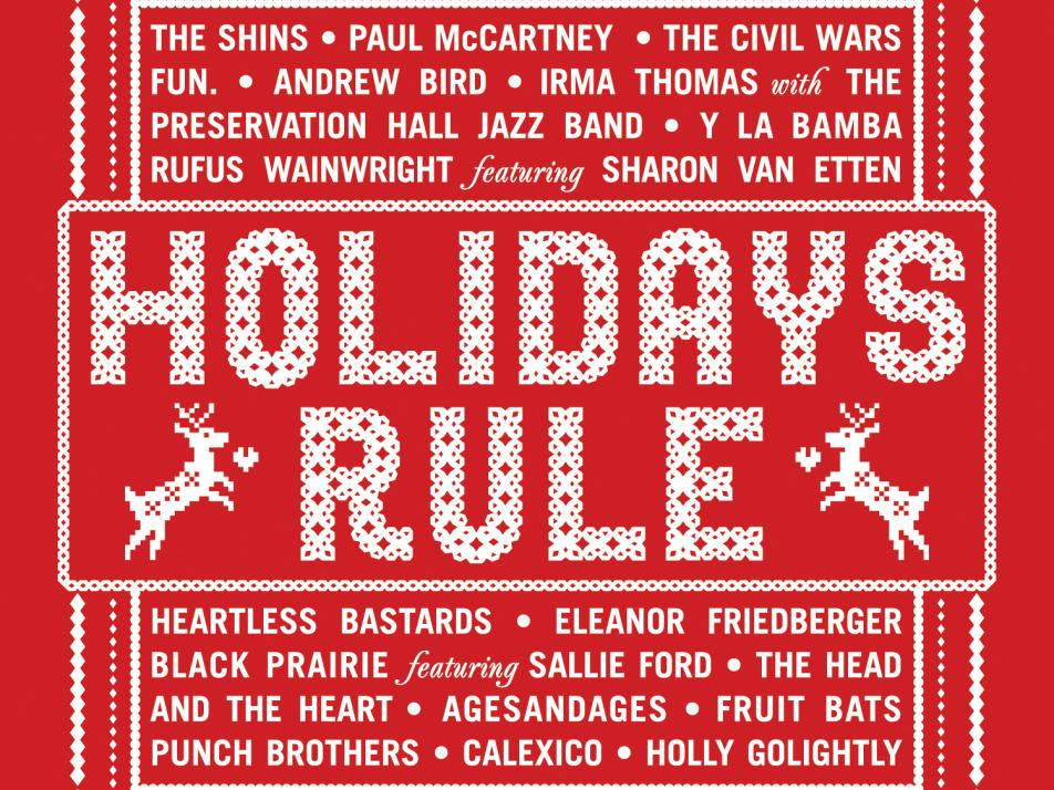 "Album art for ""Holidays Rule"""