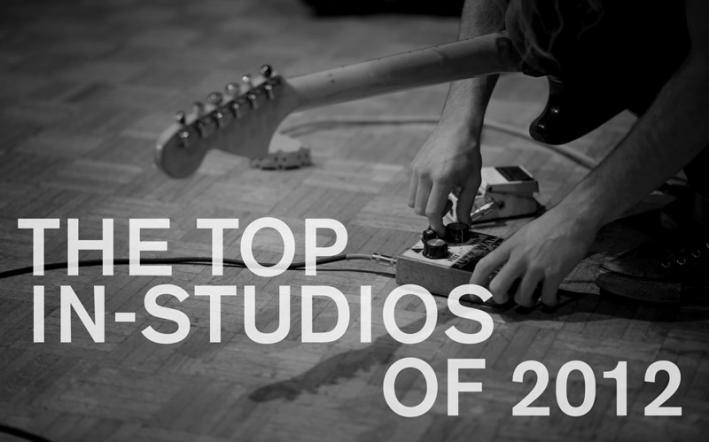 The Current's top in-studios of 2012