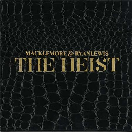 "Album art for Maclemore and Ryan Lewis's ""The Heist"""