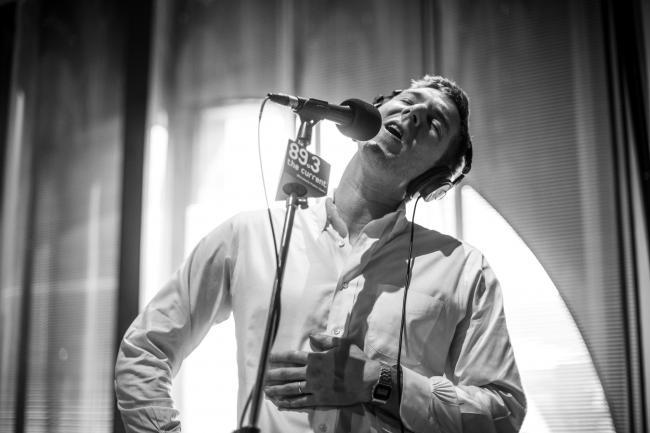 Hamilton Leithauser of The Walkmen performs in The Current studio