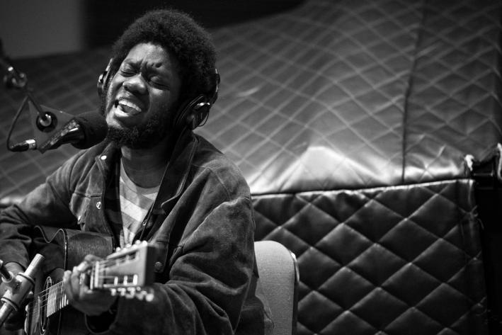 Michael Kiwanuka performs in The Current studio