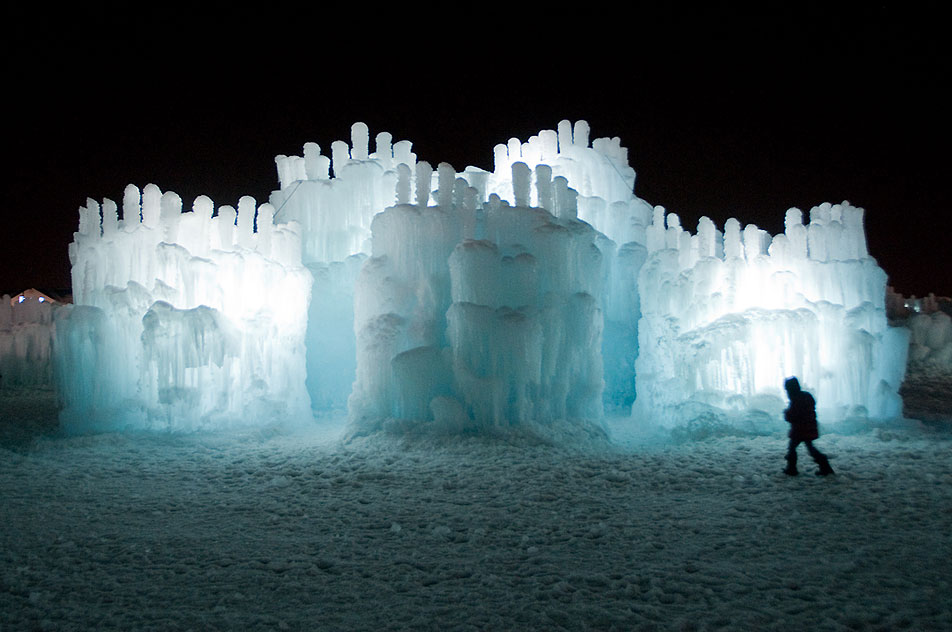 Entering the Ice Castle