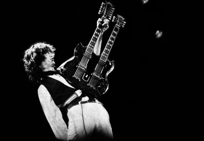 Happy Birthday to guitar god Jimmy Page.