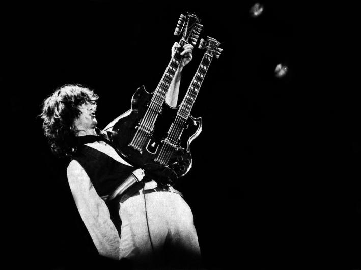 Happy Birthday to guitar god Jimmy Page.