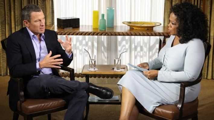 What will Lance and Oprah talk about?