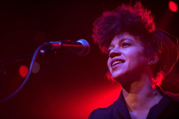 Chastity Brown brought her blend of folk, rock and soul to The Current's 8th Birthday Party.