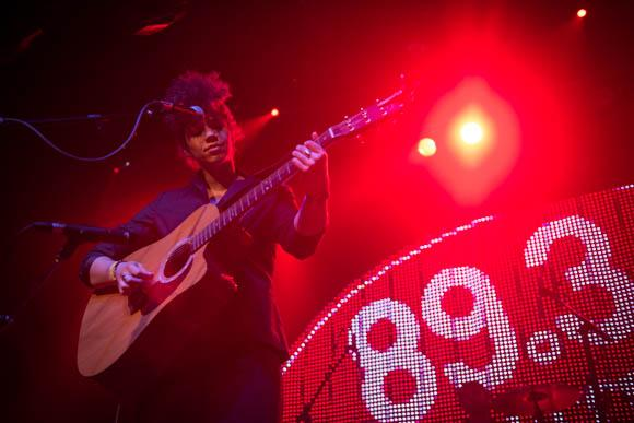 Chastity Brown performs at The Current's 8th Birthday Party.
