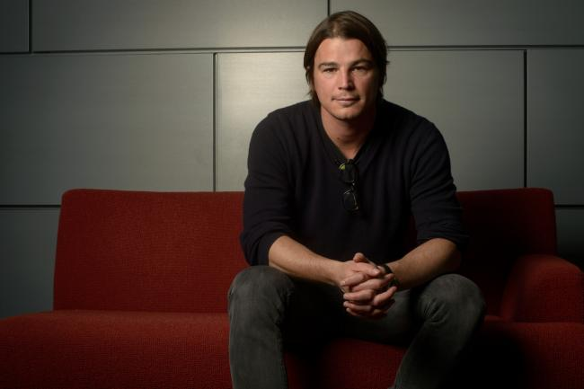 Josh Hartnett stopped by The Current to record a Theft of the Dial.