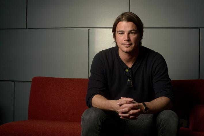 Josh Hartnett stopped by The Current to record a Theft of the Dial. Dude's got good taste.