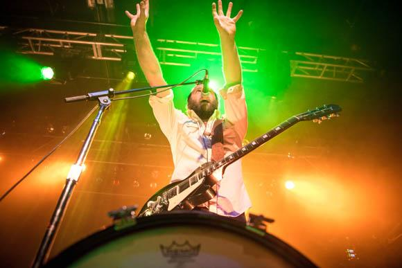 4onthefloor frontman Gabe Douglas brought his bluesy wail to First Ave.