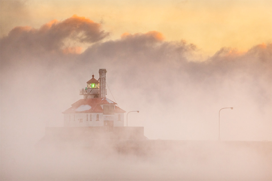 Lake Superior steam