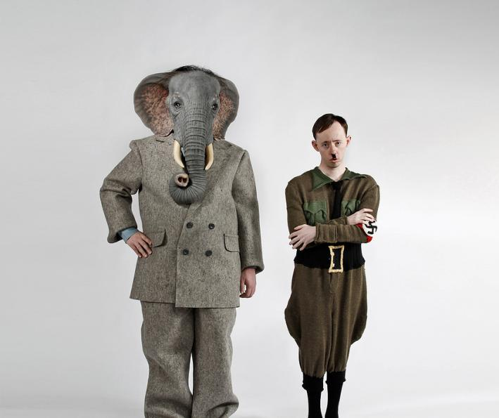 Production still / press photo for Ganesh versus the Third Reich