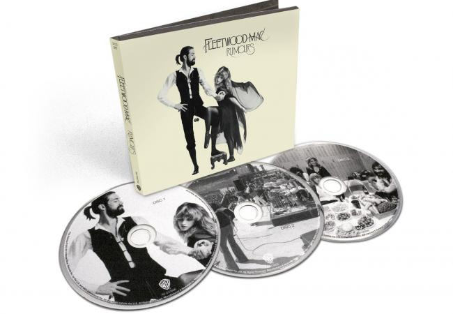 "The 3-disc deluxe edition of Fleetwood Mac's ""Rumours"""