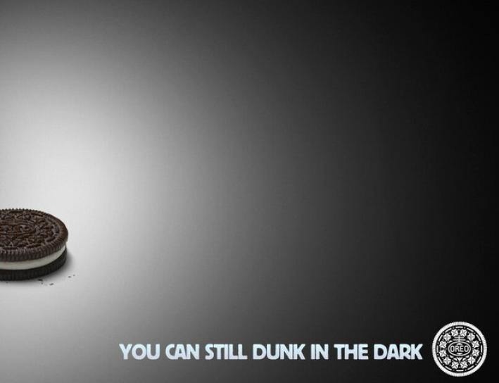 Oreo's Super Bowl blackout ad
