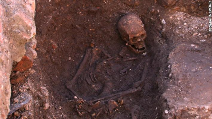 The remains of King Richard III