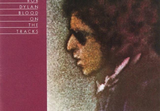 Bob Dylan's 15th studio album, <em>Blood on the Tracks</em>.
