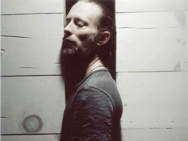 Thom Yorke of Atoms for Peace (and Radiohead)