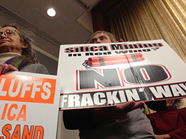 Committee to vote on frac sand regulation bill