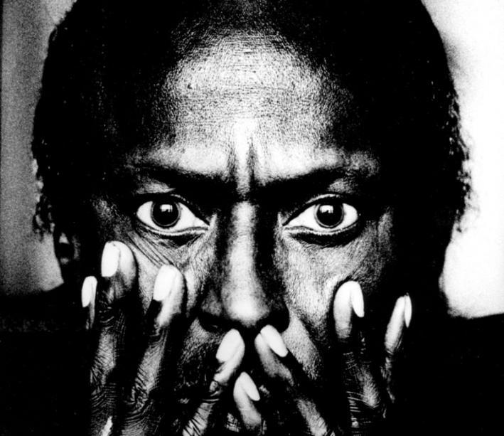 Brilliant, virtuosic and influential trumpeter/bandleader Miles Davis.