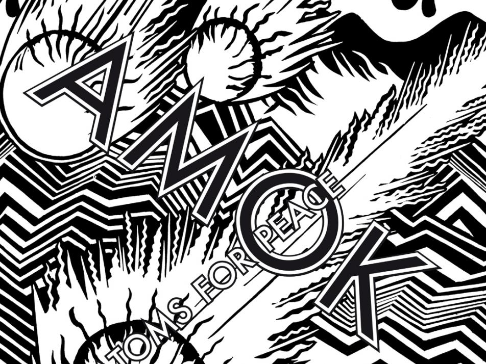 """Album art for Atoms for Peace's """"AMOK"""""""