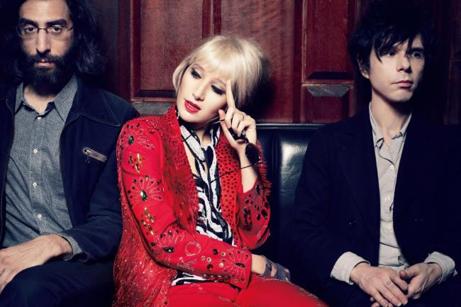 New York-based indie rock trio Yeah Yeah Yeahs