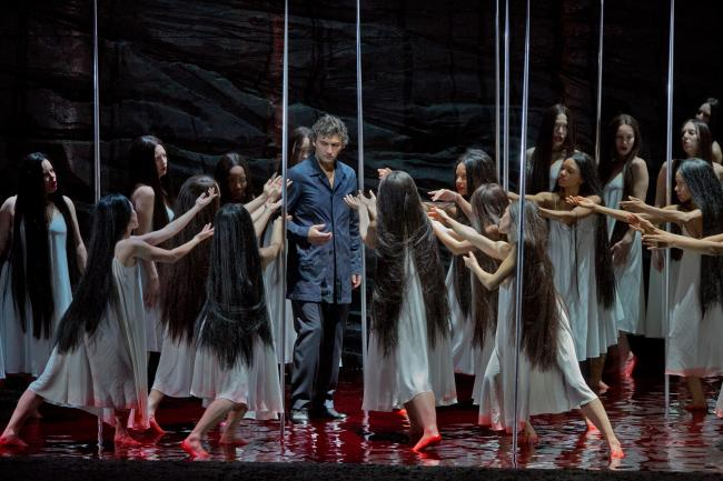 "Jonas Kaufmann as the title character of Wagner's ""Parsifal."" (Ken Howard/Metropolitan Opera)"
