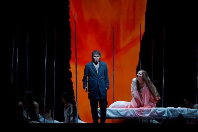 "Jonas Kaufmann as the title character and Katarina Dalayman as Kundry in Wagner's ""Parsifal."" (Ken Howard/Metropolitan Opera)"