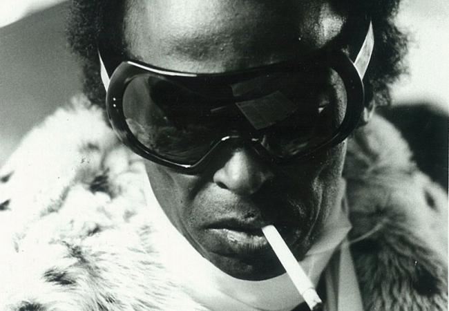 Miles Davis during the 1970s.