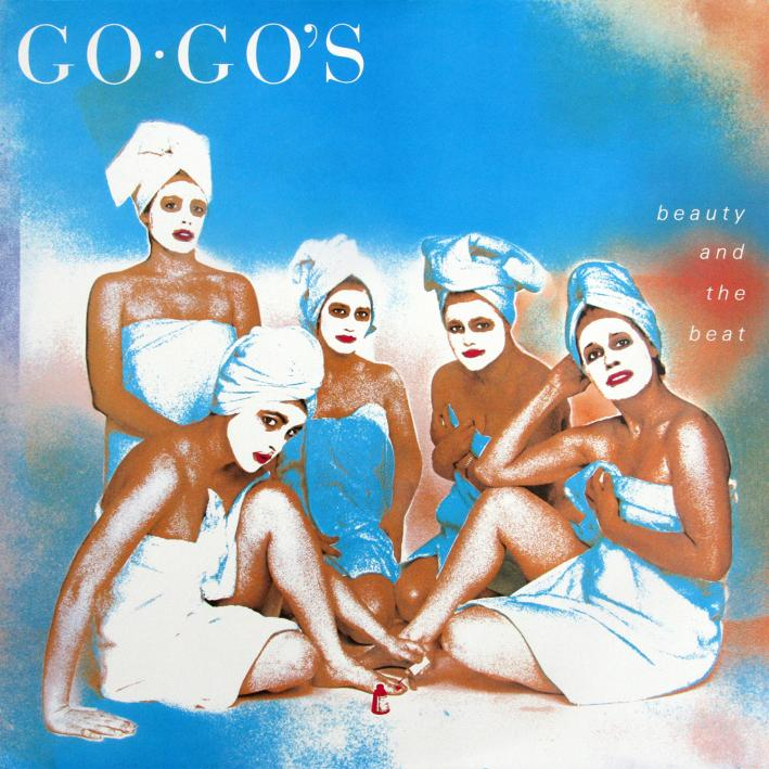 The Go Go's went to No. 1 for six-weeks with Beauty and the Beat.