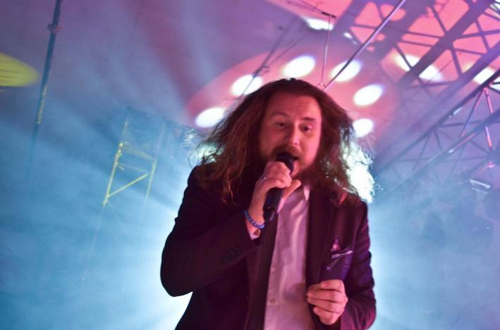Jim James performed his solo album for fans at the Hype Hotel in Austin on March 13, 2013.