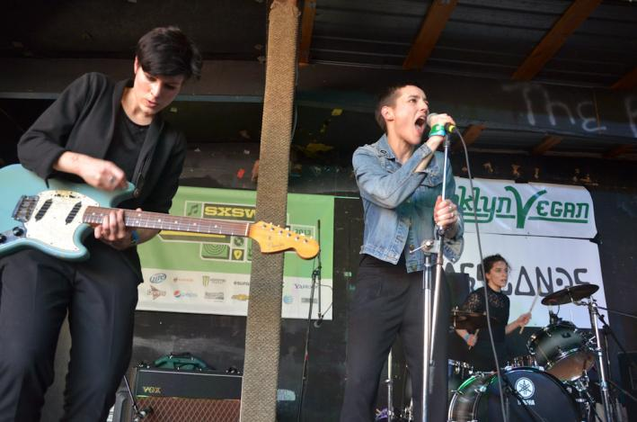 Savages perform at South by Southwest.
