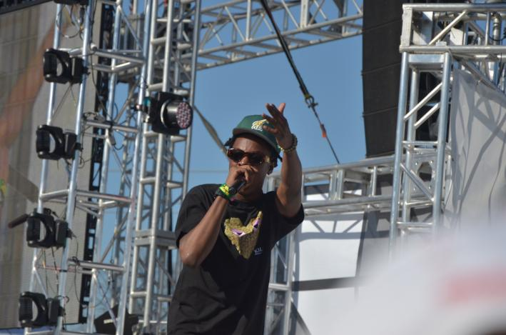 Joey Bada$$ performs at MTVU, March 14, 2013 at SXSW