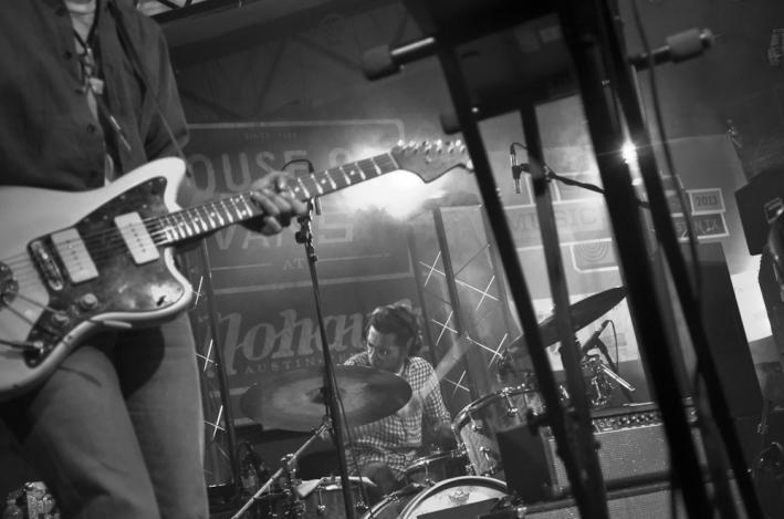 Solid Gold drummer Jeremy Hanson