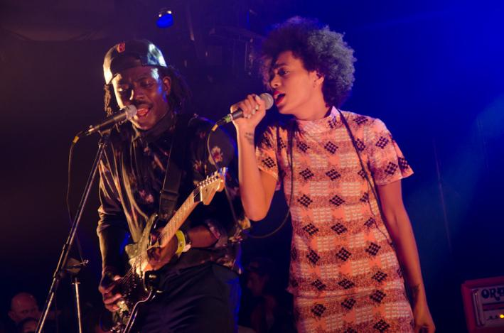 Solange Knowles at the Hype Hotel