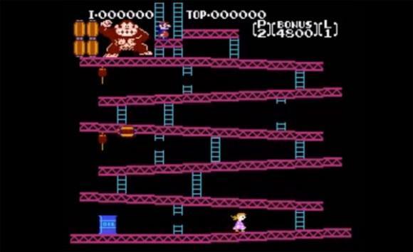 A father hacked Donkey Kong to make Princess Peach the hero.