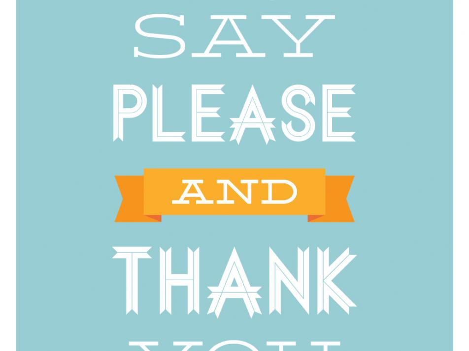 Start off National Common Courtesy Day with some 'please' and 'thank you' songs from the 9:30 Coffee Break.