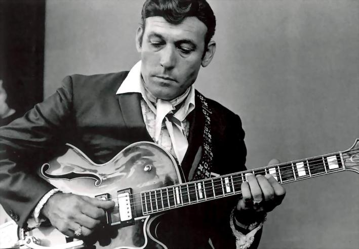Carl Perkins' career never recovered after his car accident Today in Music History.
